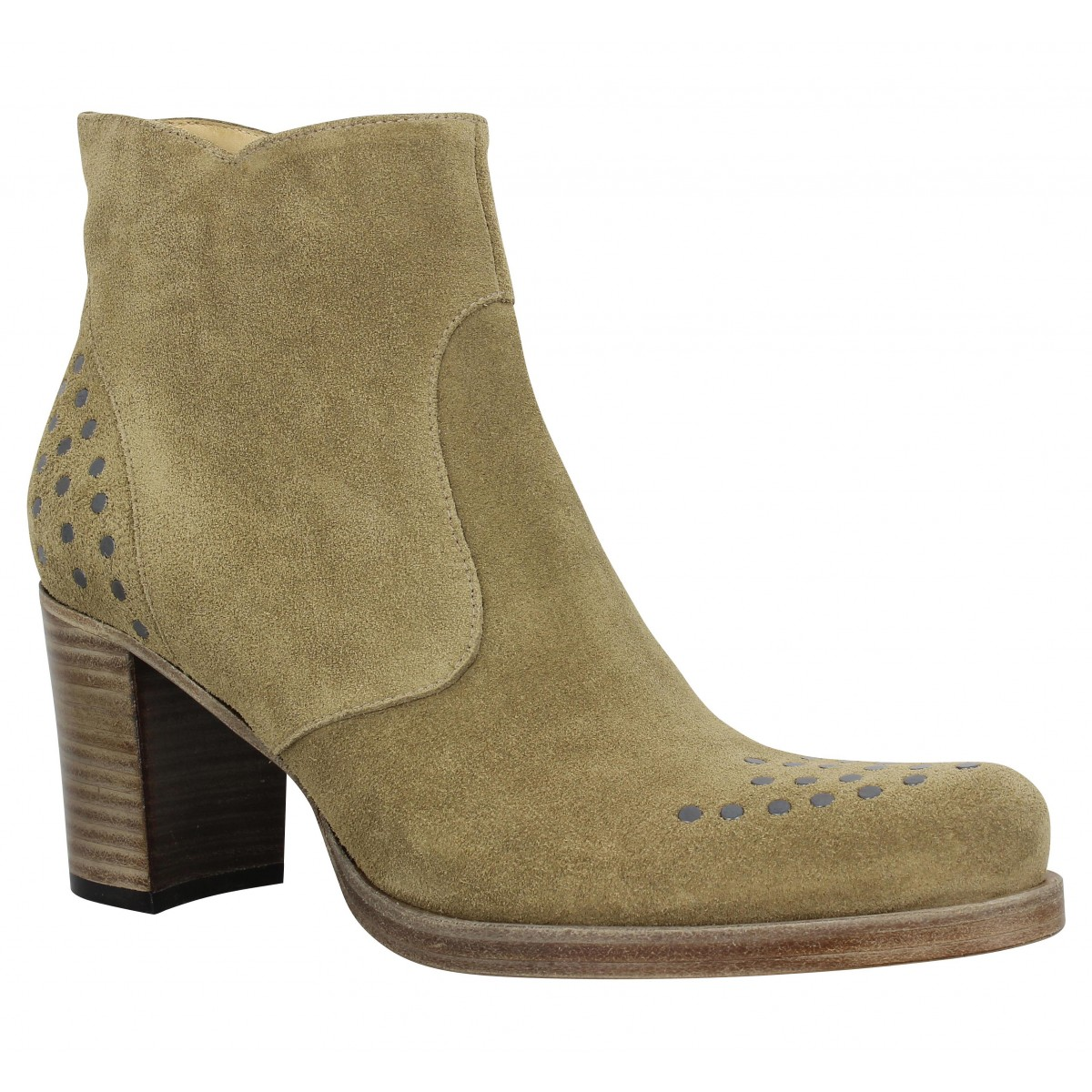 Bottines FREE LANCE Paddy 7 Zip Boot Riv Taupe