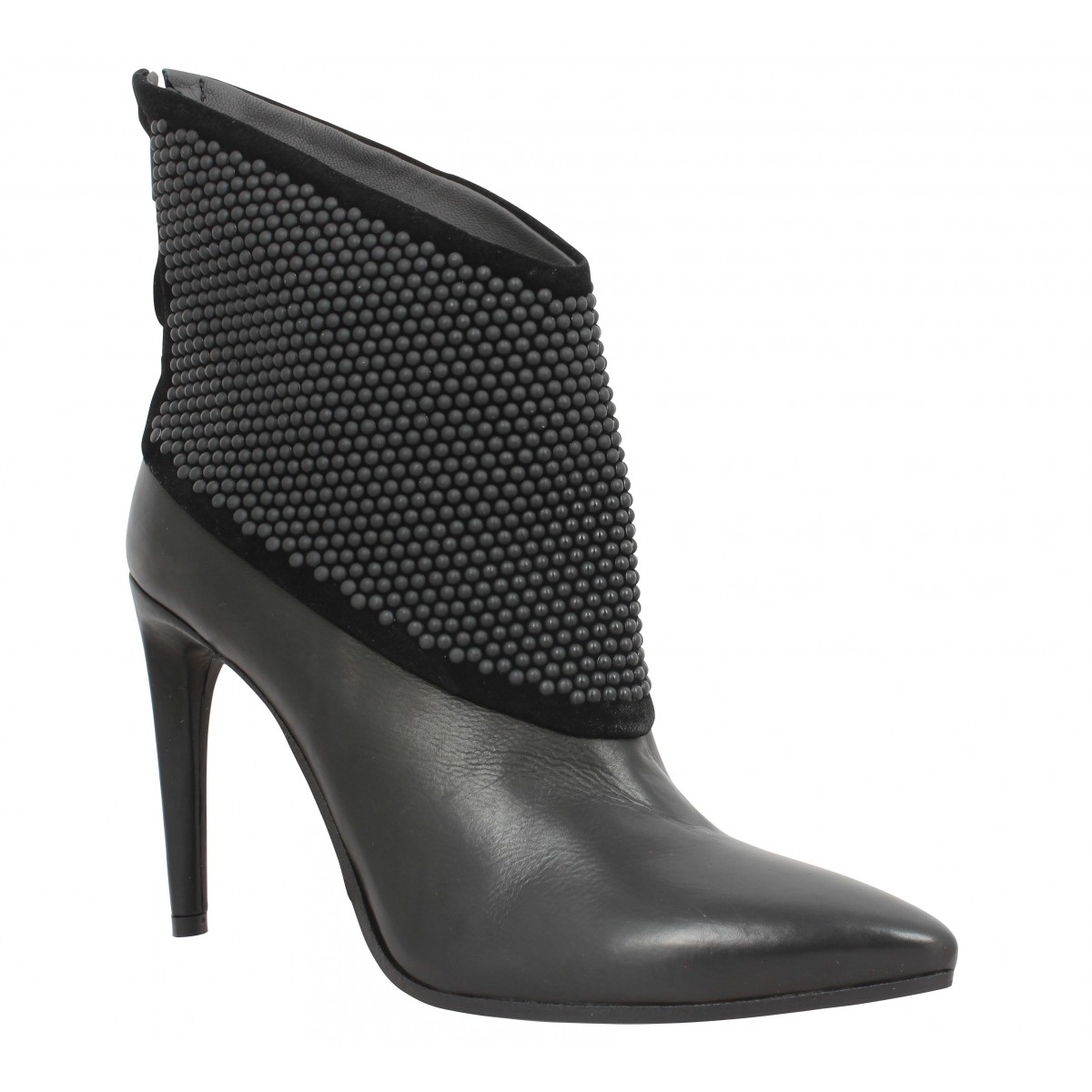 Bottines FRU.IT 5648 cuir Femme Noir