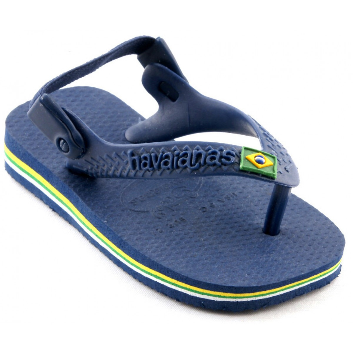 Tongs HAVAIANAS Brasil Baby Enfant Marine