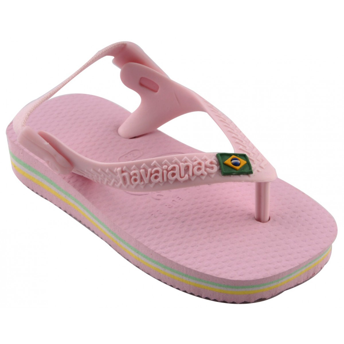Tongs HAVAIANAS Brasil Baby Enfant Rose