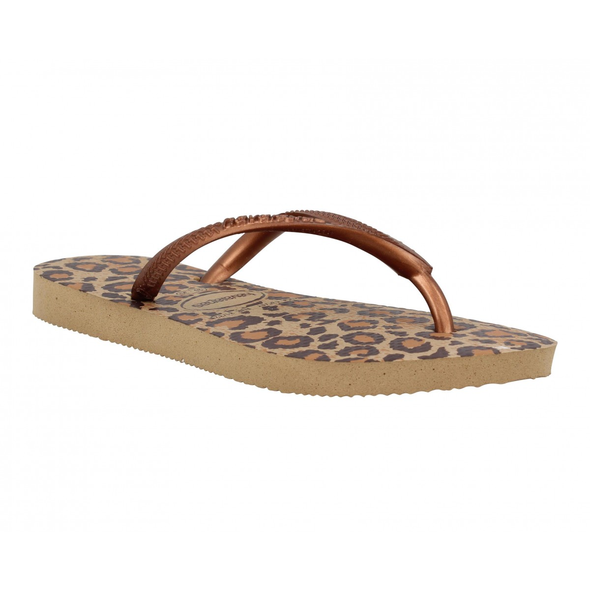 Tongs HAVAIANAS Slim Animals caoutchouc Enfant Beige