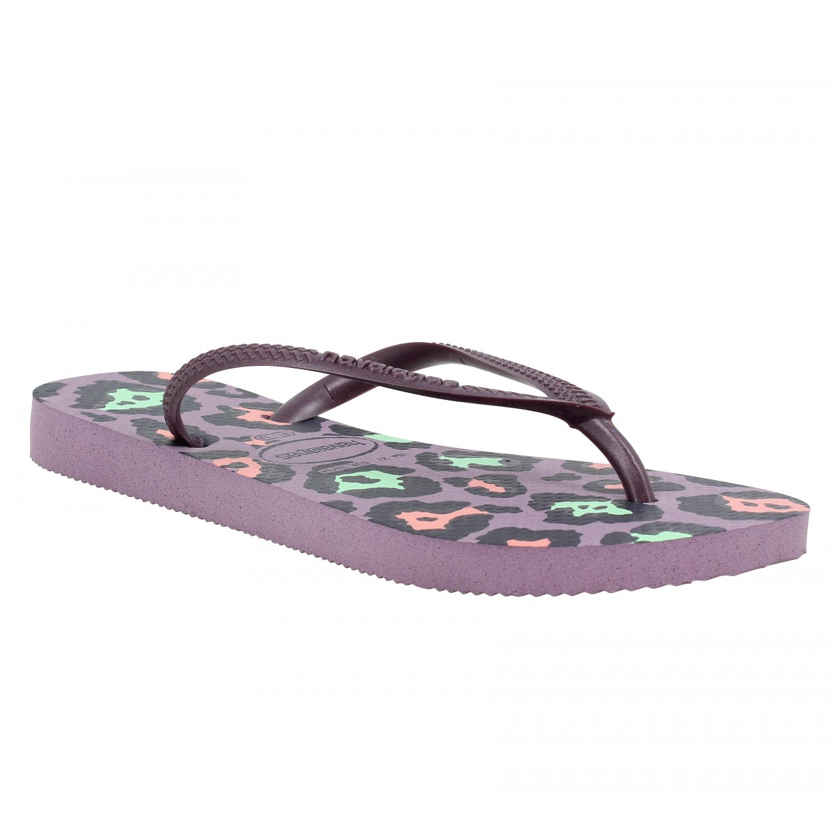 Tongs HAVAIANAS Slim Animals caoutchouc Enfant Petunia
