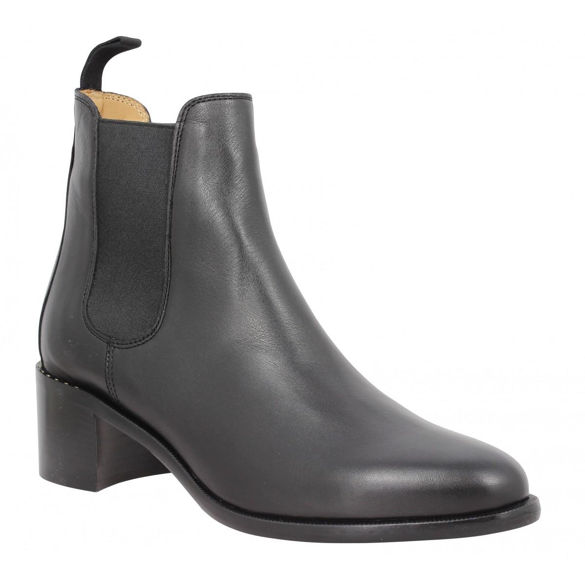 Bottines HESCHUNG Allure cuir Femme Noir
