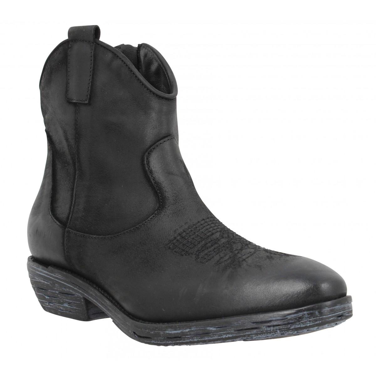 IMPICCI 122 cuir Femme-35-Noir