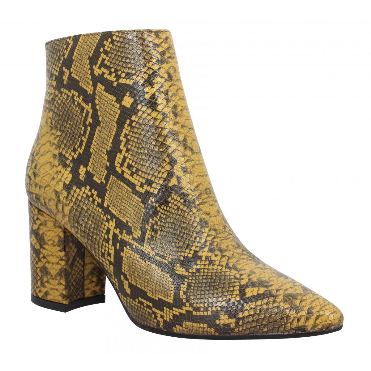 Impicci Femme P90 Reptile -35-jaune
