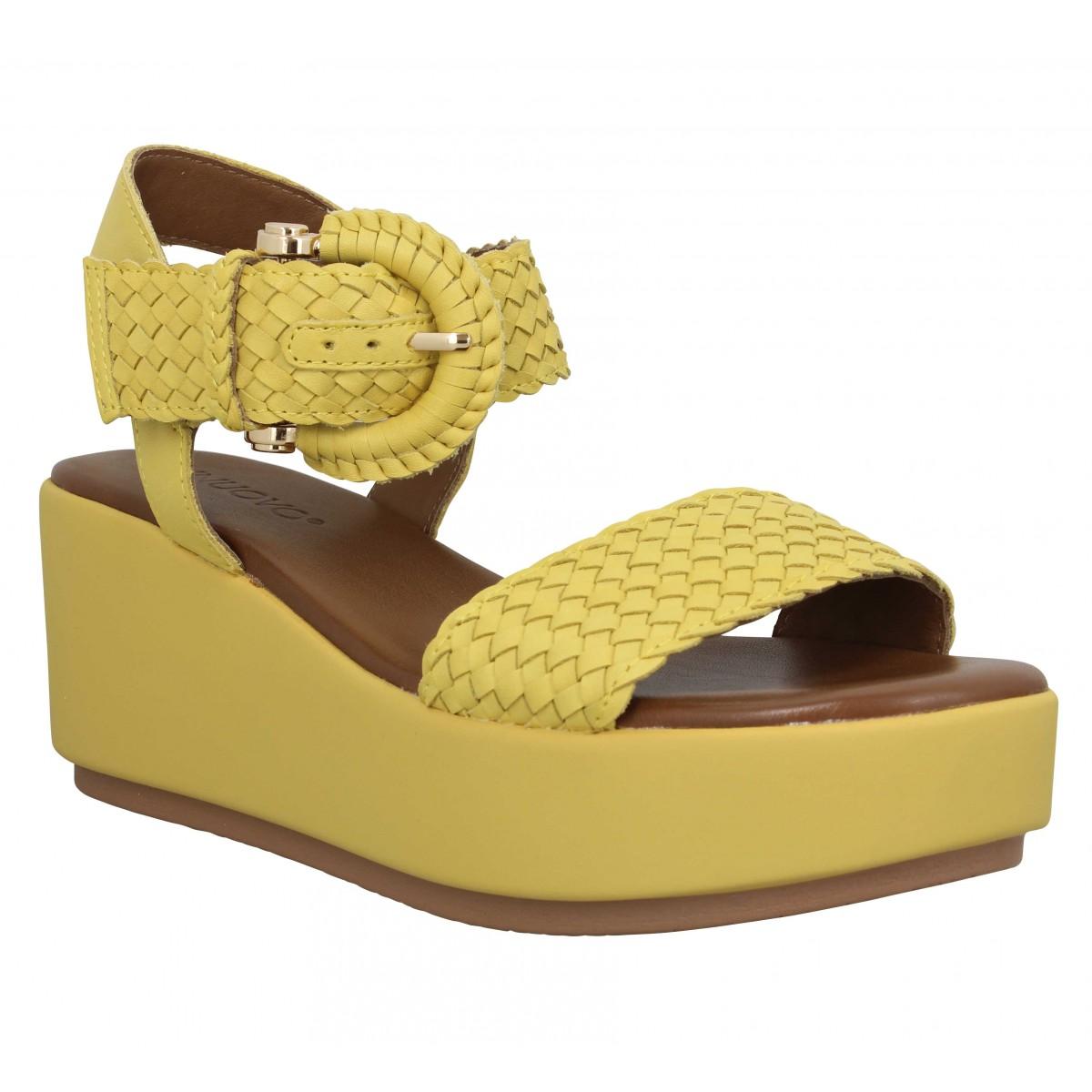 Inuovo Femme 13200 Cuir -40-jaune