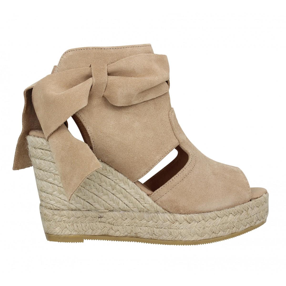 Kanna Chaussures Sandales Beige Femme 40 Taupe qrqkiH0wJ