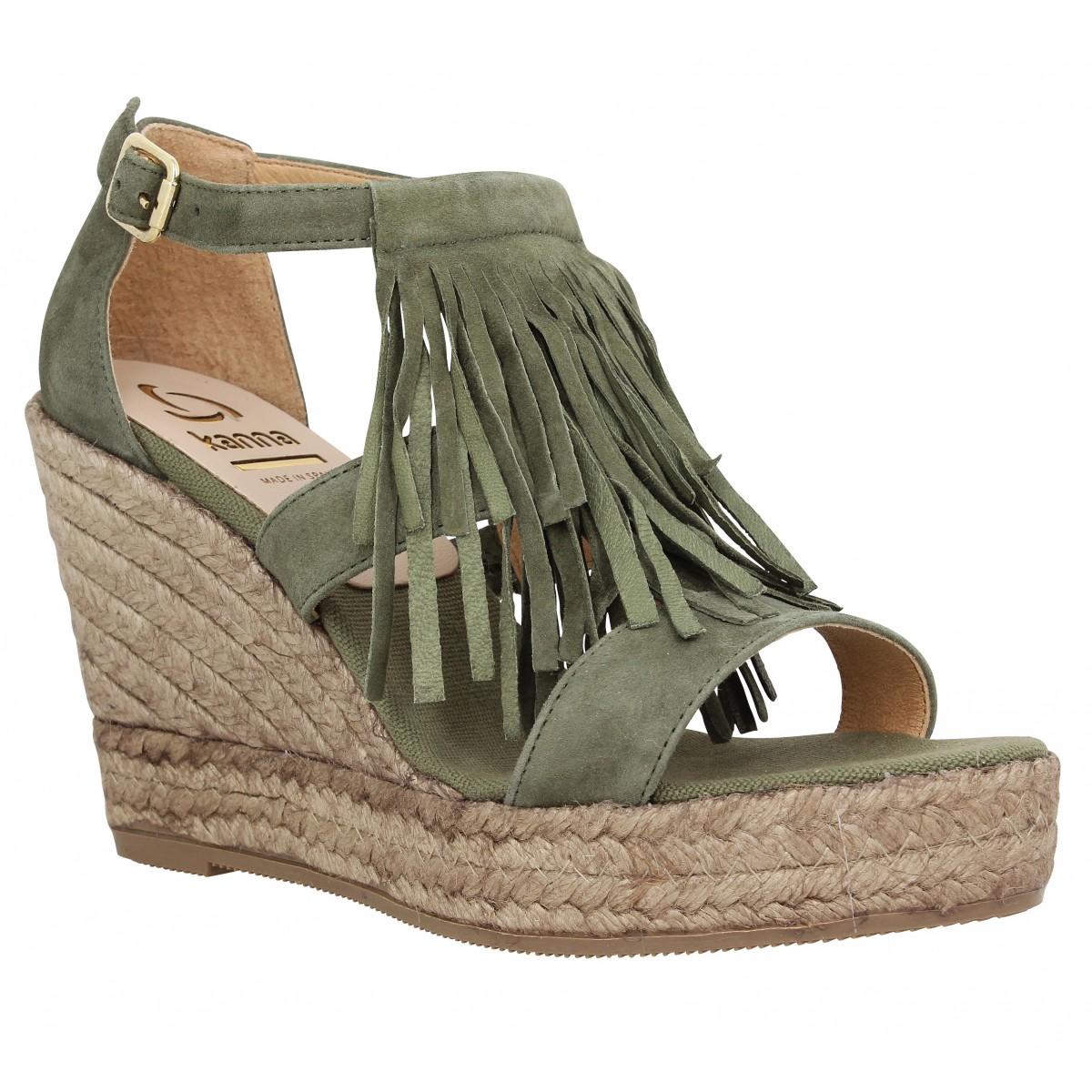 Chaussures kaki femme stMVLg5NIS