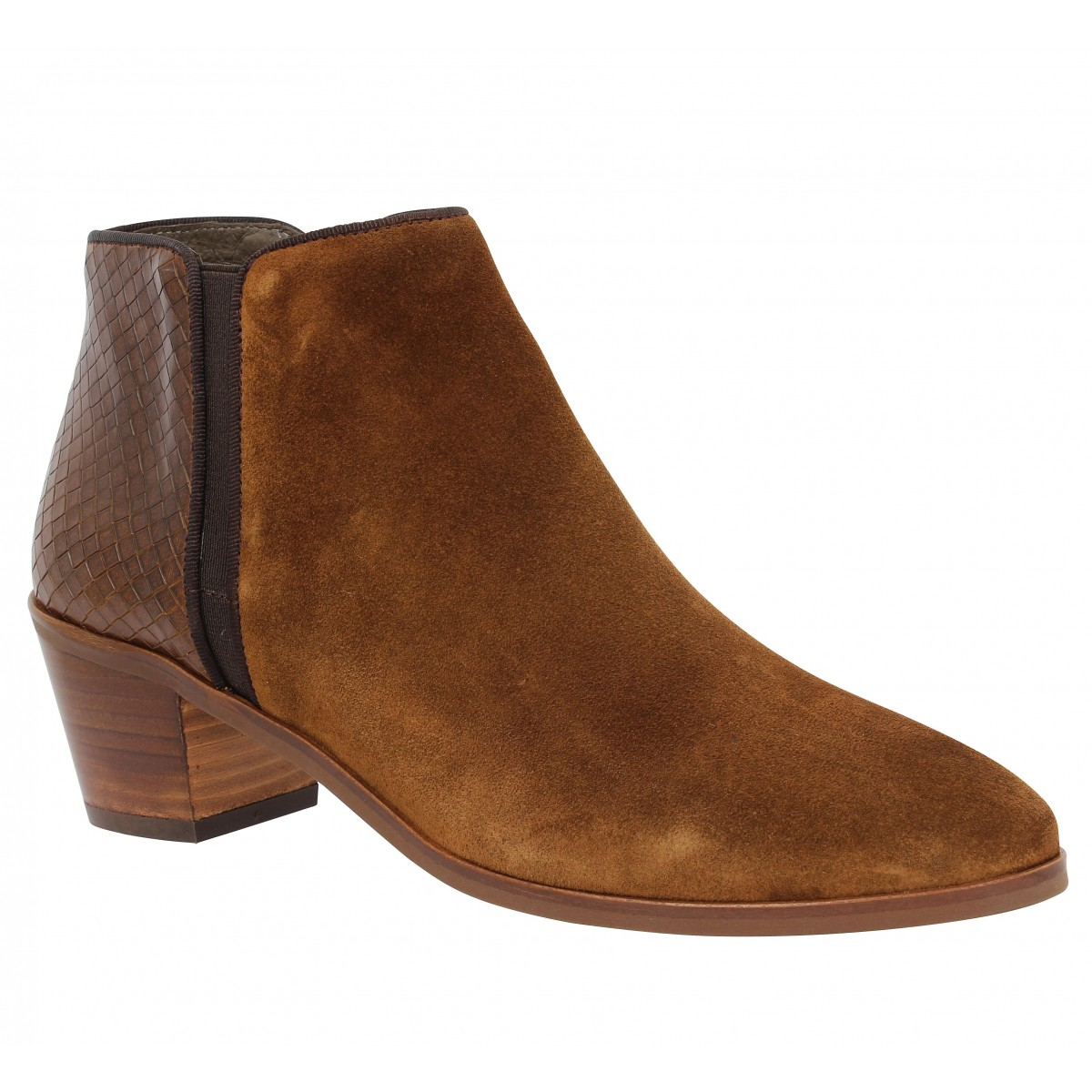Bottines KANNA 6645 Cognac