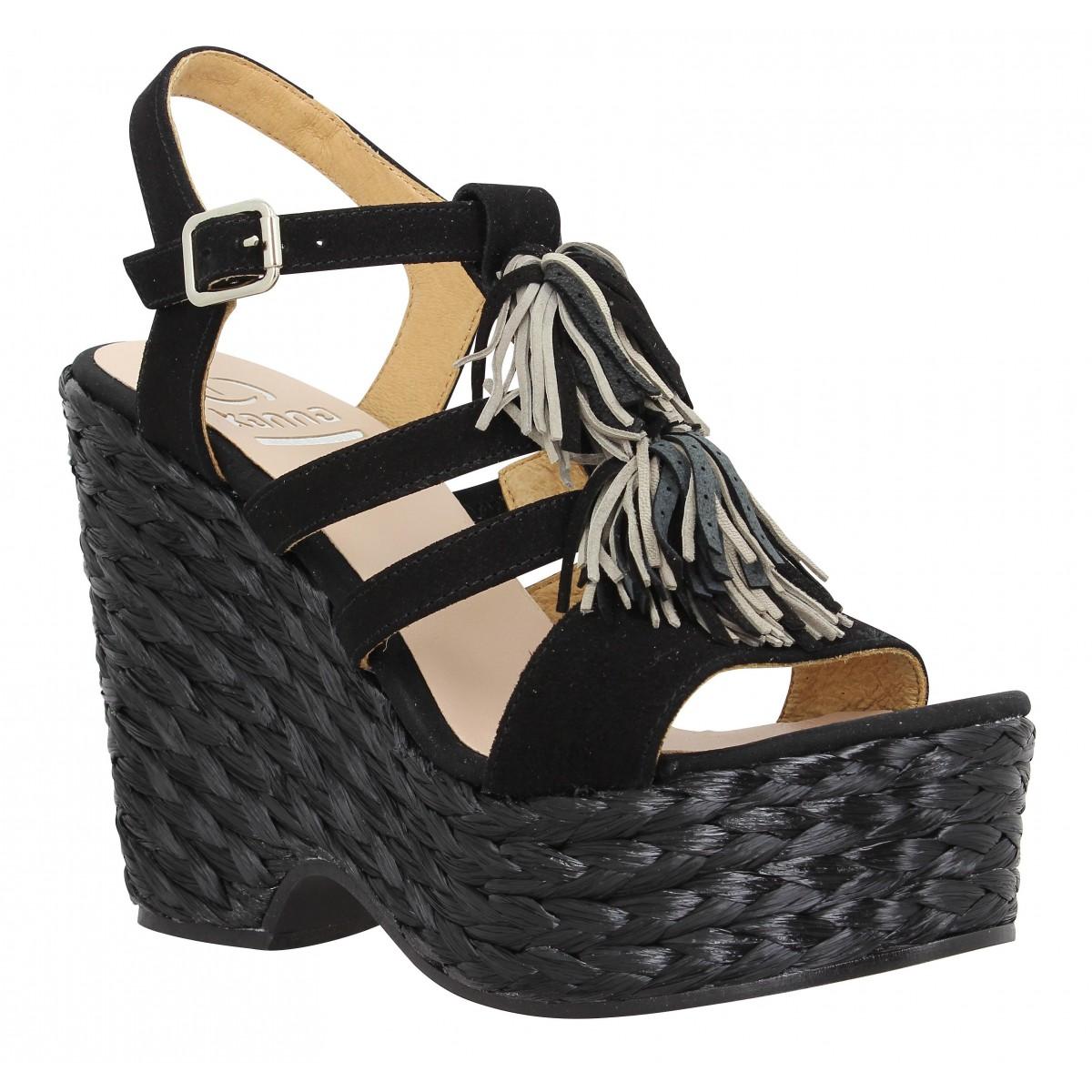 Kanna Femme 7511 Velours-35-noir