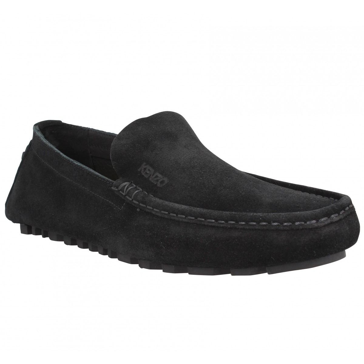 Mocassins KENZO Lane Reversed velours Homme Noir