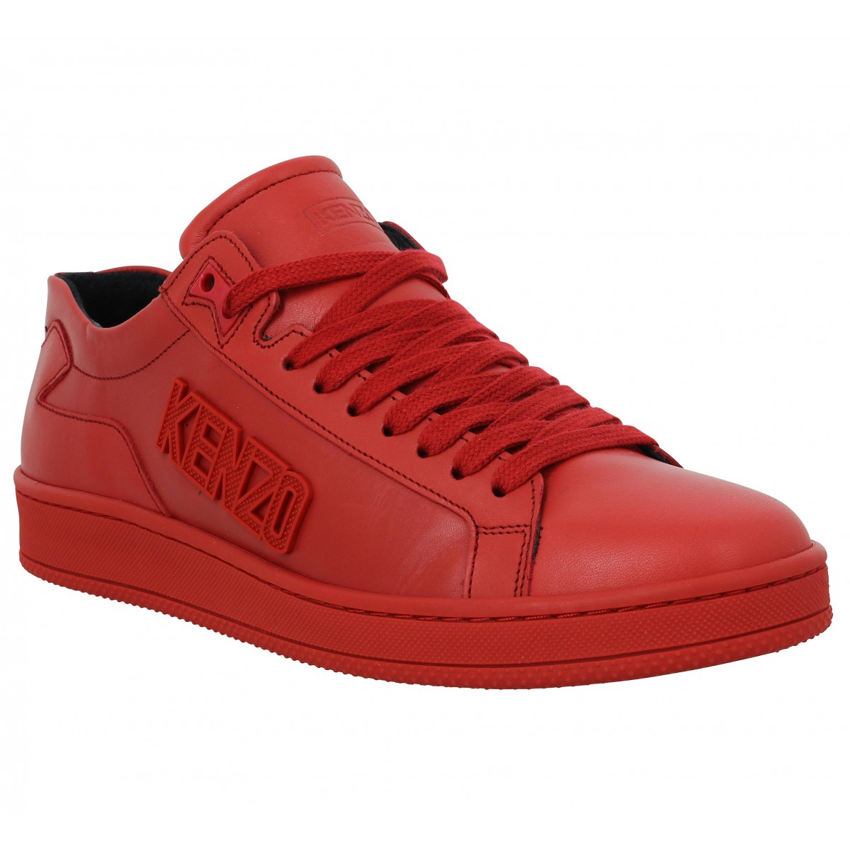 Baskets KENZO Tennix Homme Red