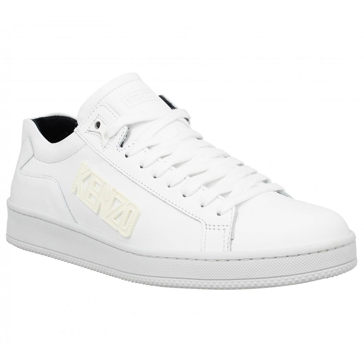 Baskets KENZO Tennix Homme White