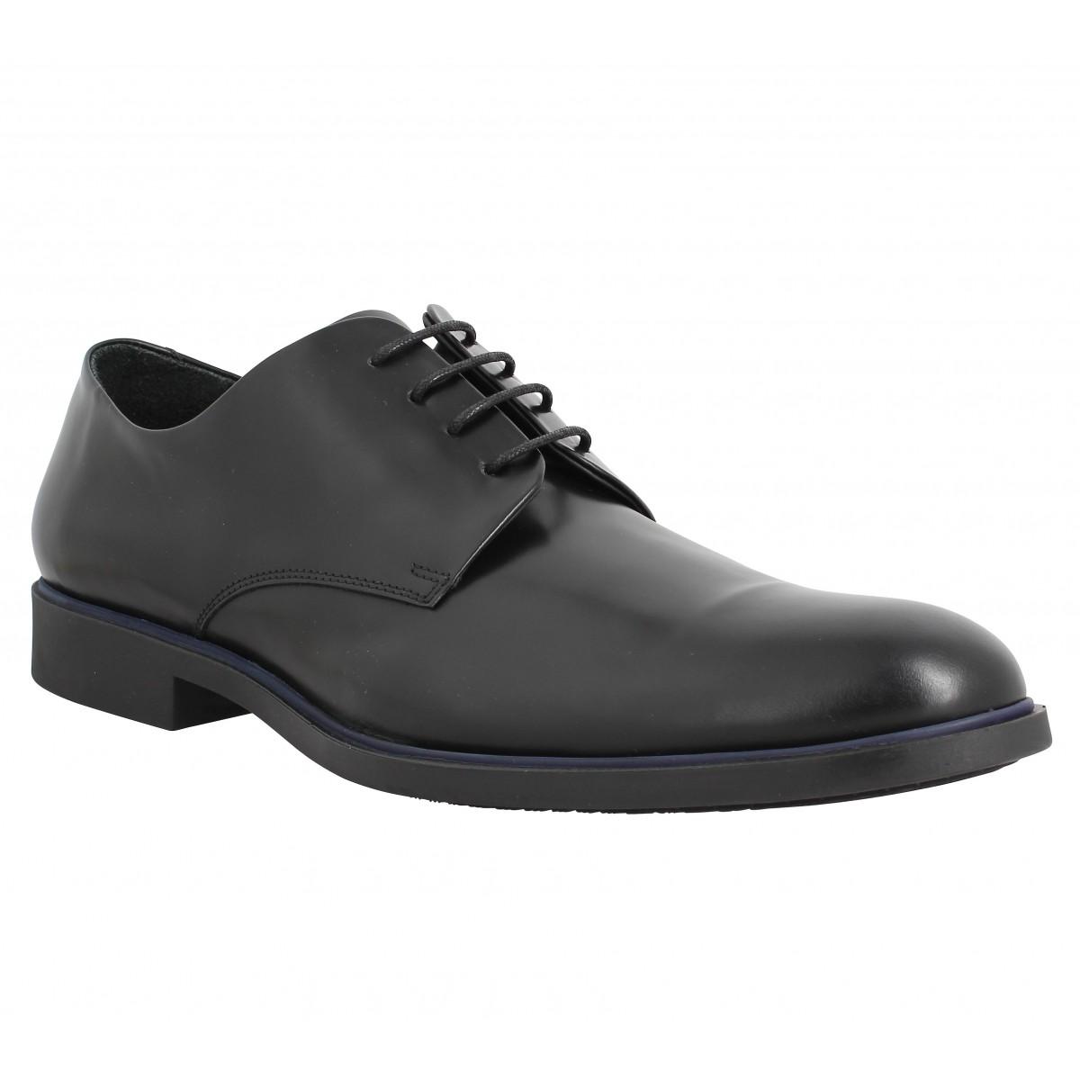 Chaussures à lacets KENZO Walter cuir Noir