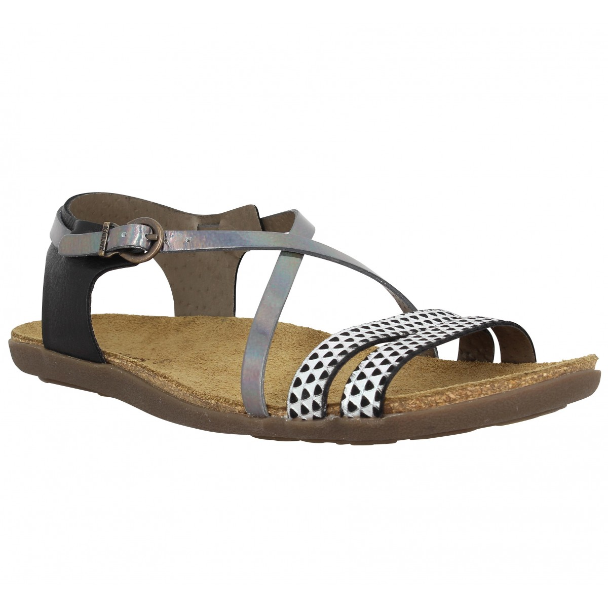 146125a84ef968 Kickers atomium cuir femme noir femme | Fanny chaussures