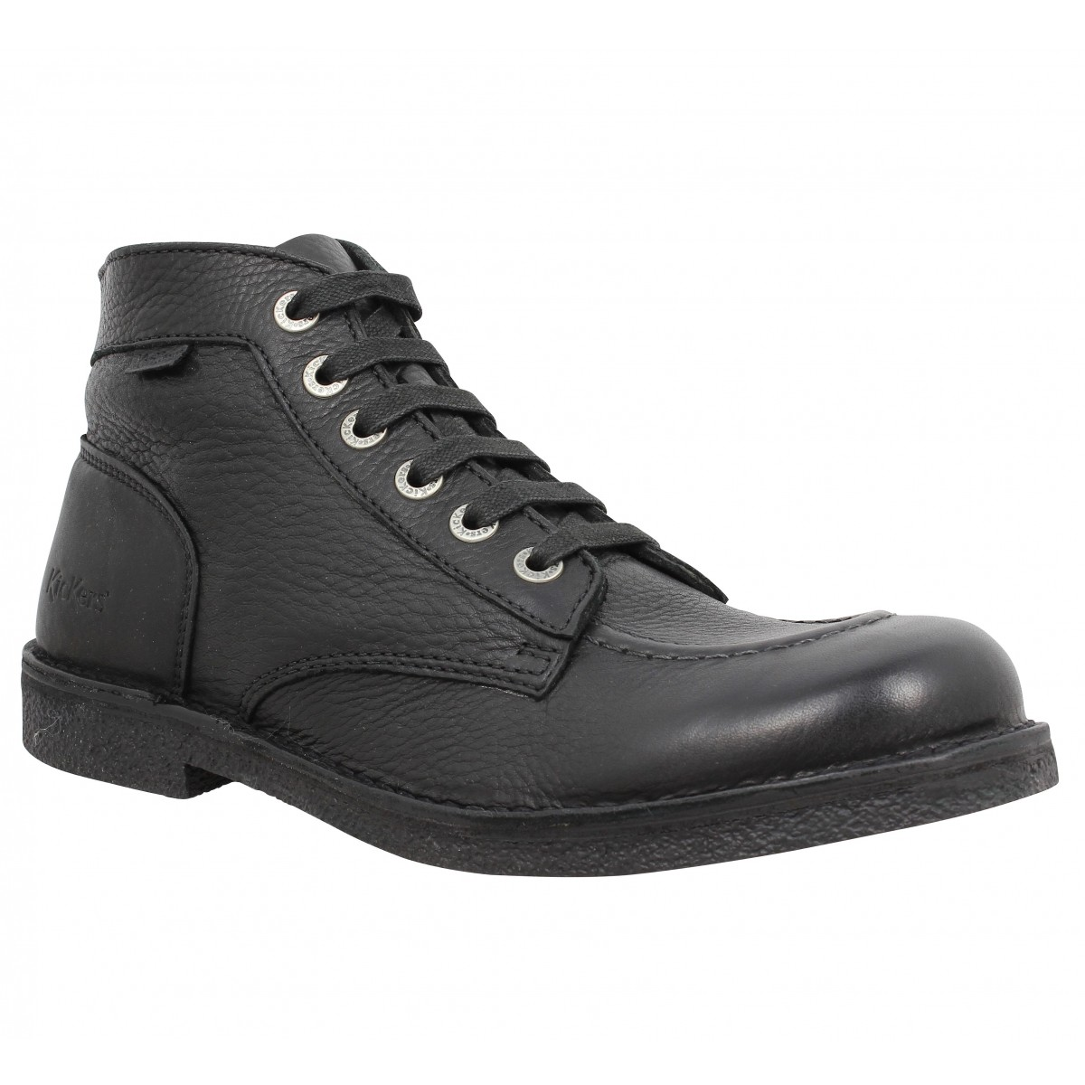 Bottines KICKERS Kick Stone box Homme Noir