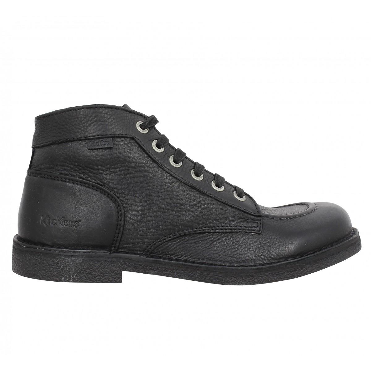 Chaussures Kickers Kick 33 noires Casual enfant Lje1yzfIC3