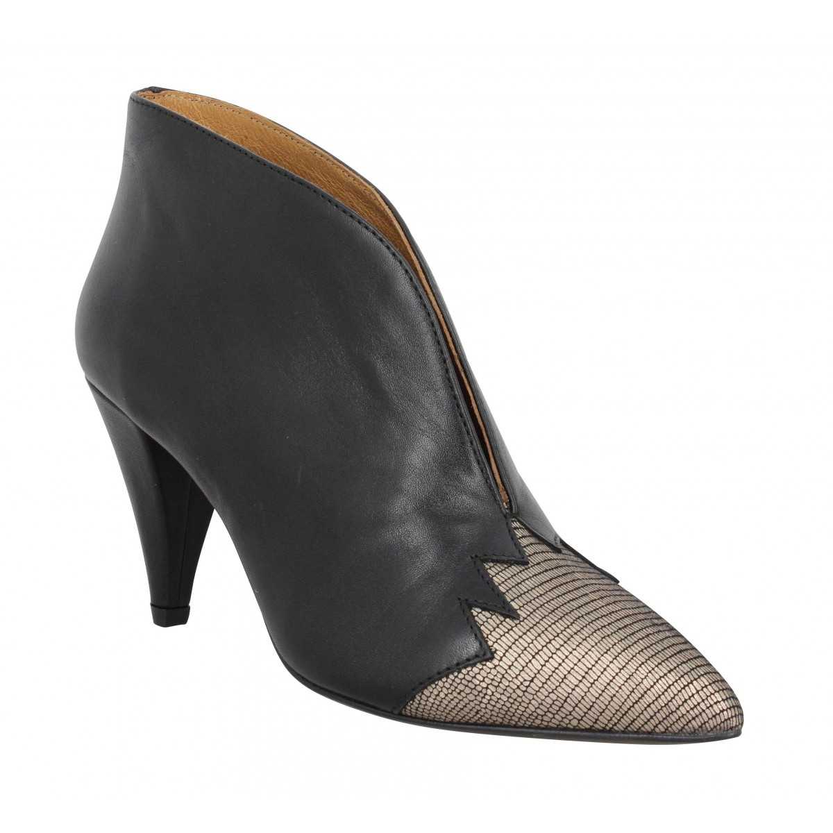 Kmassalia Femme Nina Cuir -35-noir Iron