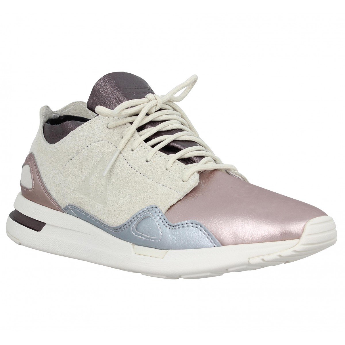 Baskets LE COQ SPORTIF Lcs R Flow velours toile Femme Multi