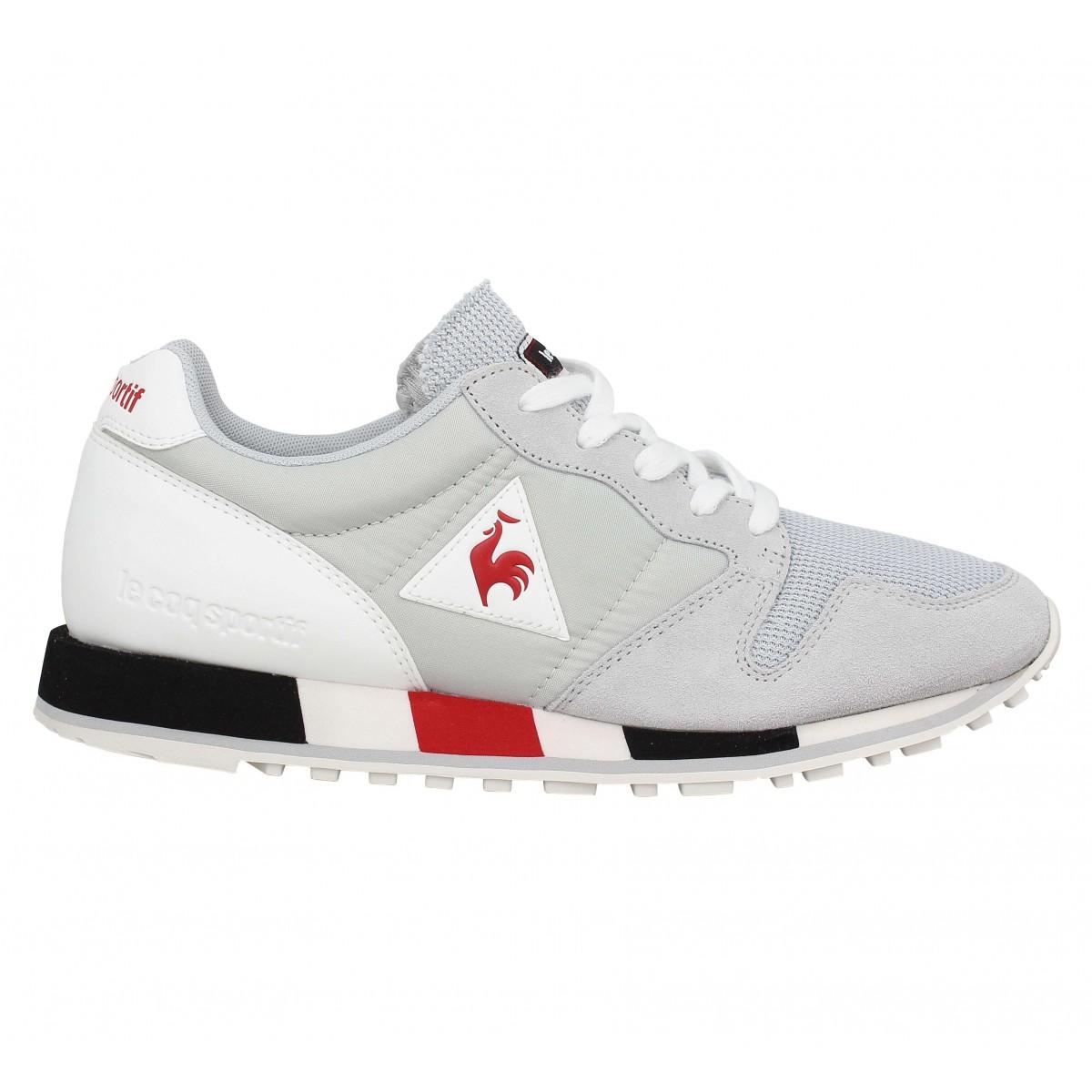 velours omega homme coq Fanny Le homme chaussures sportif premium gris qSwZIx6