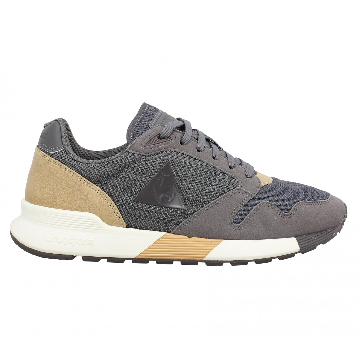Le Coq Sportif OMEGA X CRAFT / GRIS Gris - Chaussures Chaussures-de-running Homme