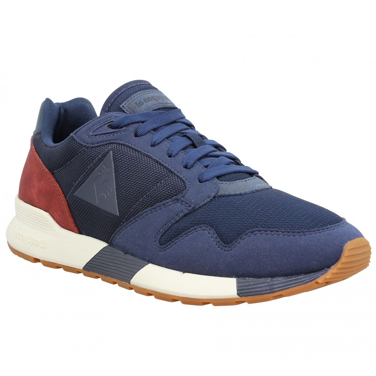 Baskets LE COQ SPORTIF Omega X Craft toile Homme Marine