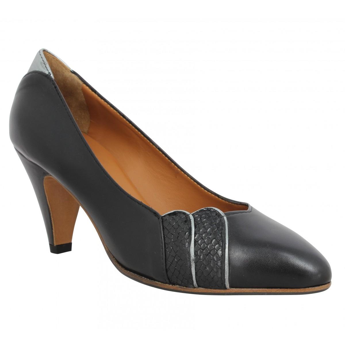 Escarpins LES VENUES 4318 cuir Femme Noir