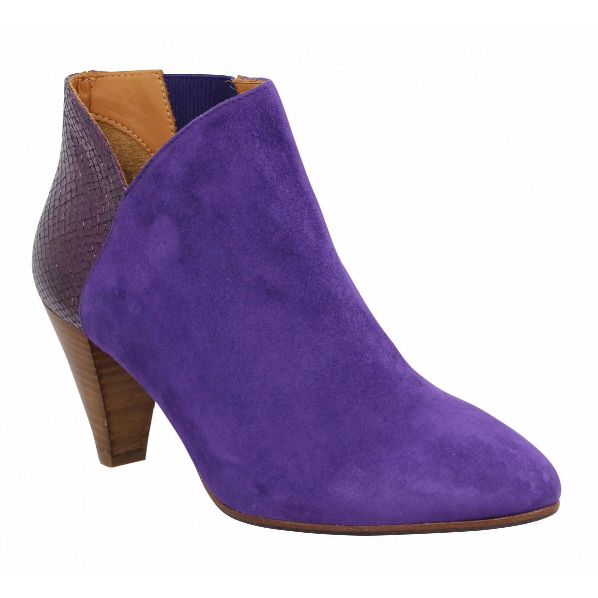 Les Venues Femme 4360 Velours -36-violet