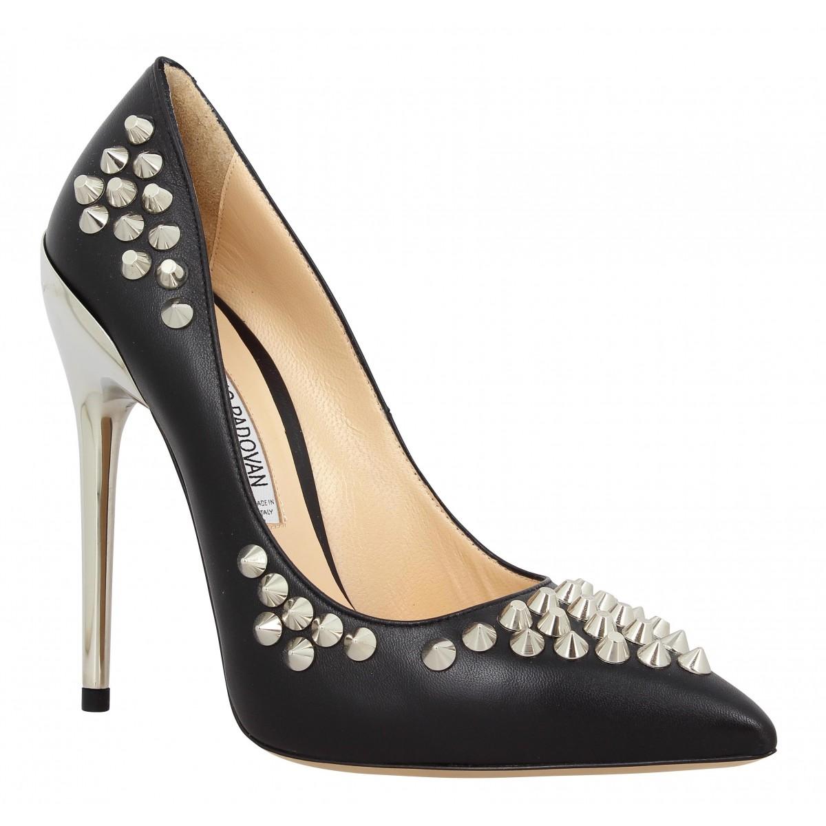 Escarpins LUCIANO PADOVAN 074 cuir Femme Noir
