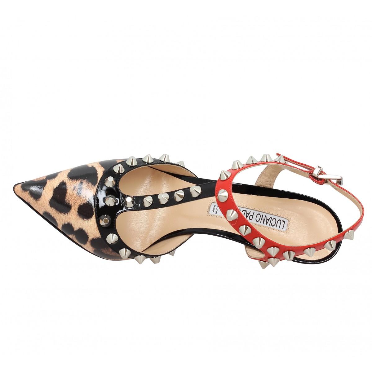 timberland femme leopard