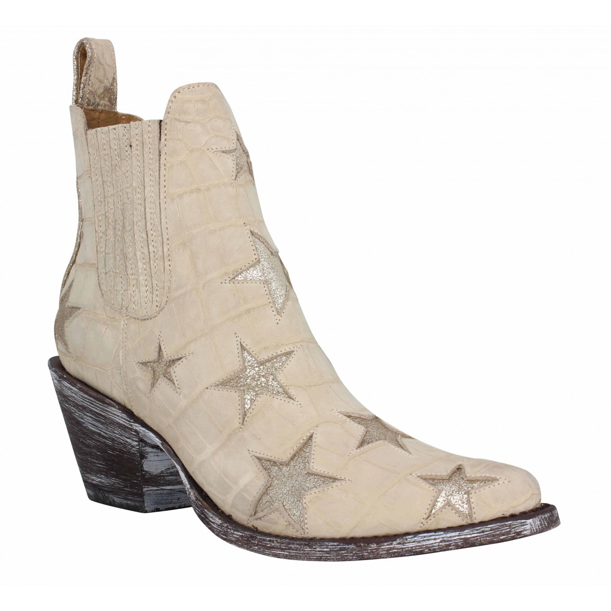 Bottines MEXICANA Circus cuir Femme Natural