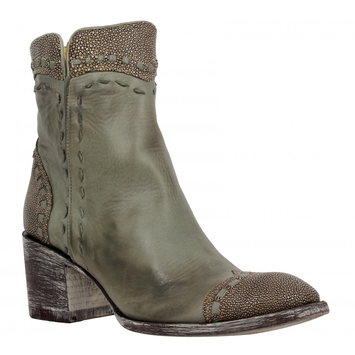Bottes MEXICANA Crithier cuir Femme Cigare