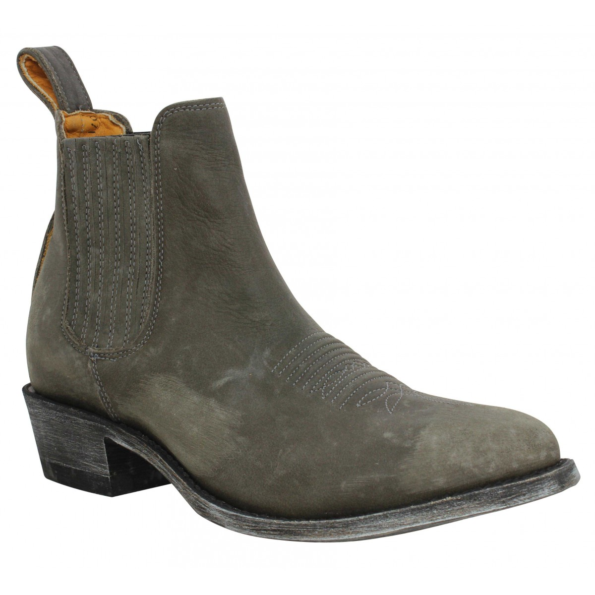 Bottines MEXICANA Estudio Bis cuir Femme Grey