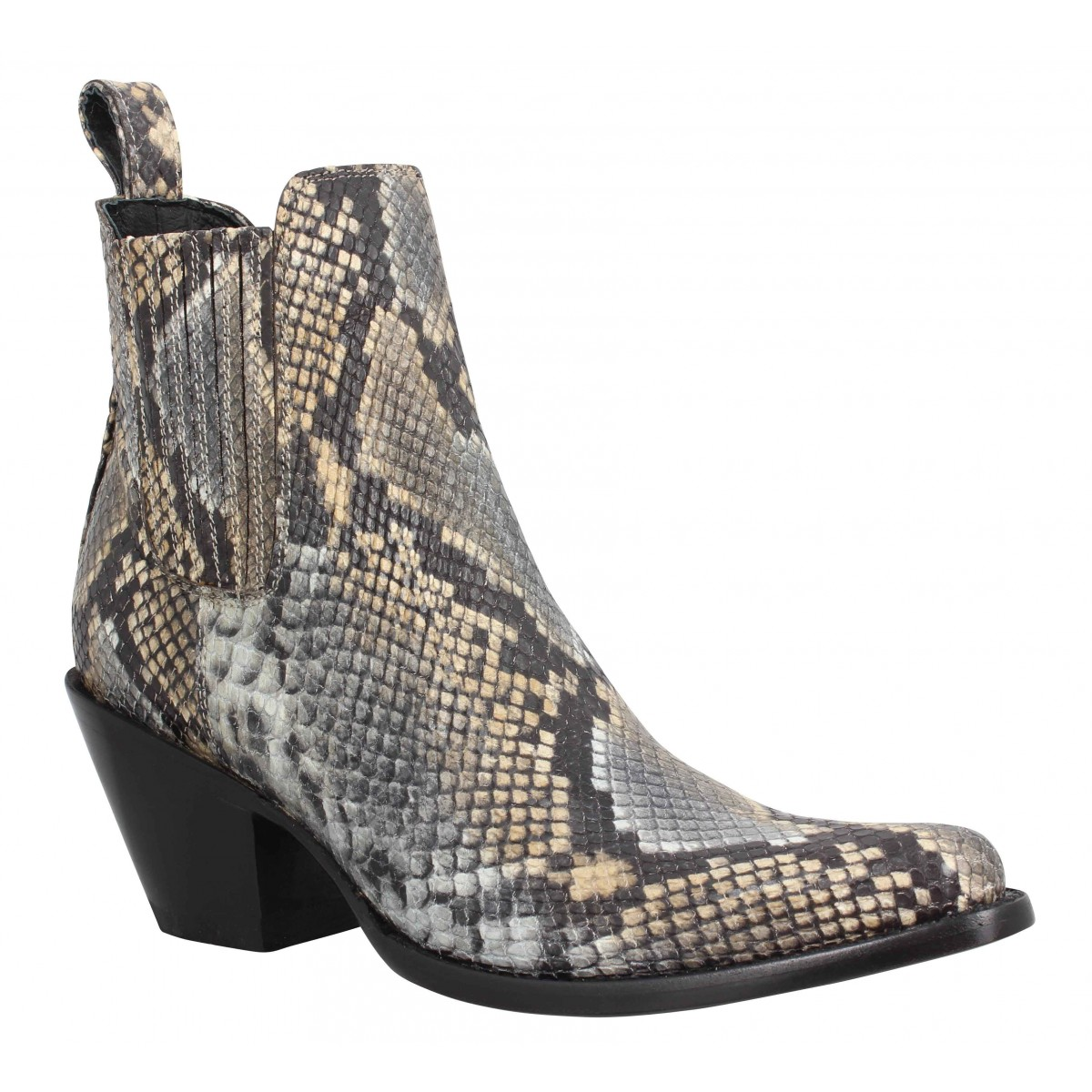 Bottines MEXICANA Estudio cuir Femme Diamant