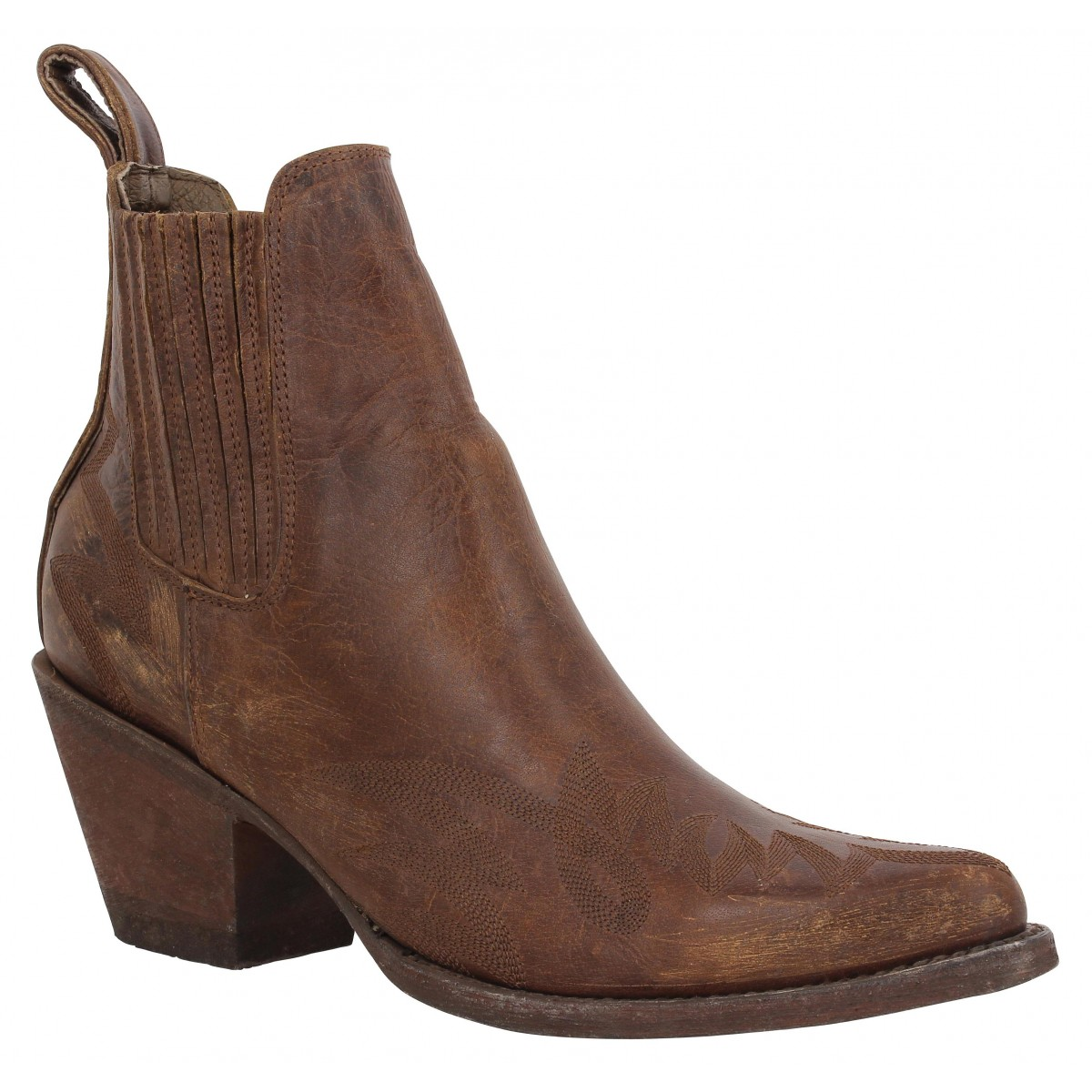 Bottines MEXICANA Gaucho Marron