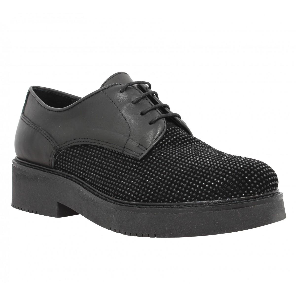 Chaussures à lacets MORENA GABBRIELLI 1158 Femme Noir
