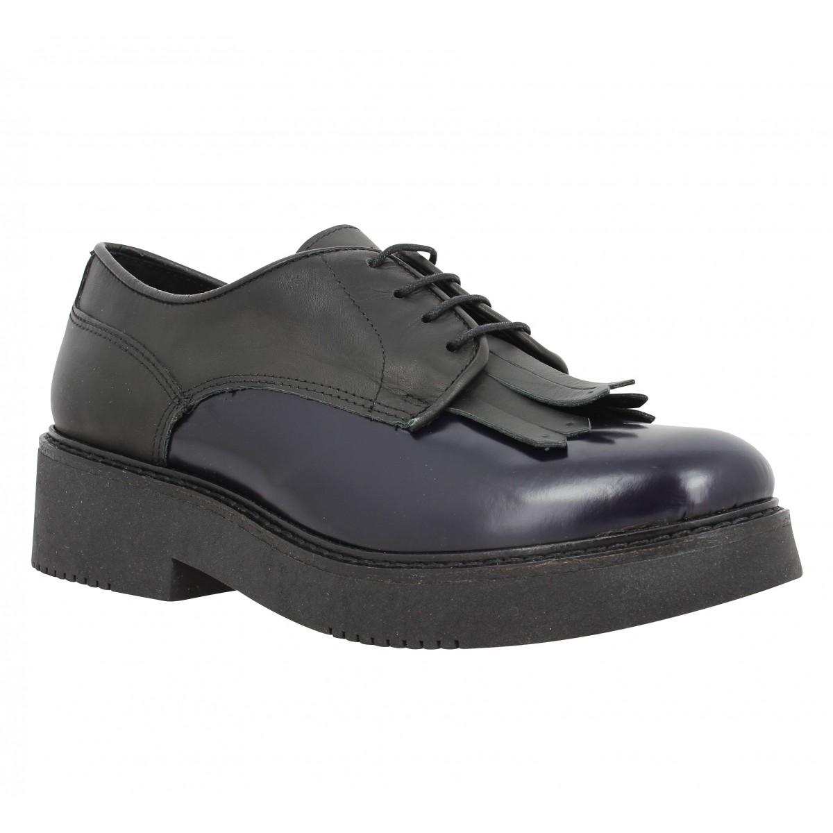 Chaussures à lacets MORENA GABBRIELLI 737 Femme Noir