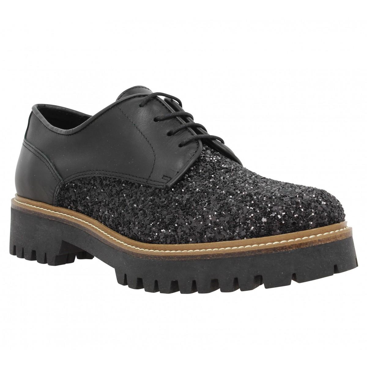 Chaussures à lacets MORENA GABBRIELLI 9988 Femme Noir