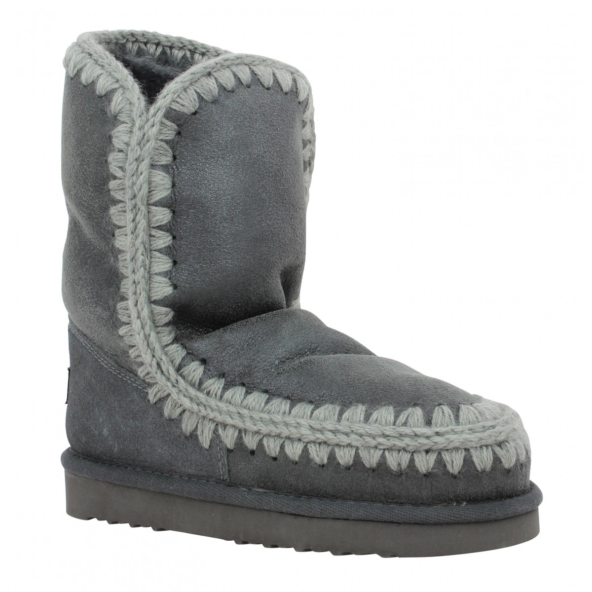 Bottes MOU Eskimo Boot 24 velours Femme Anthracite Metal