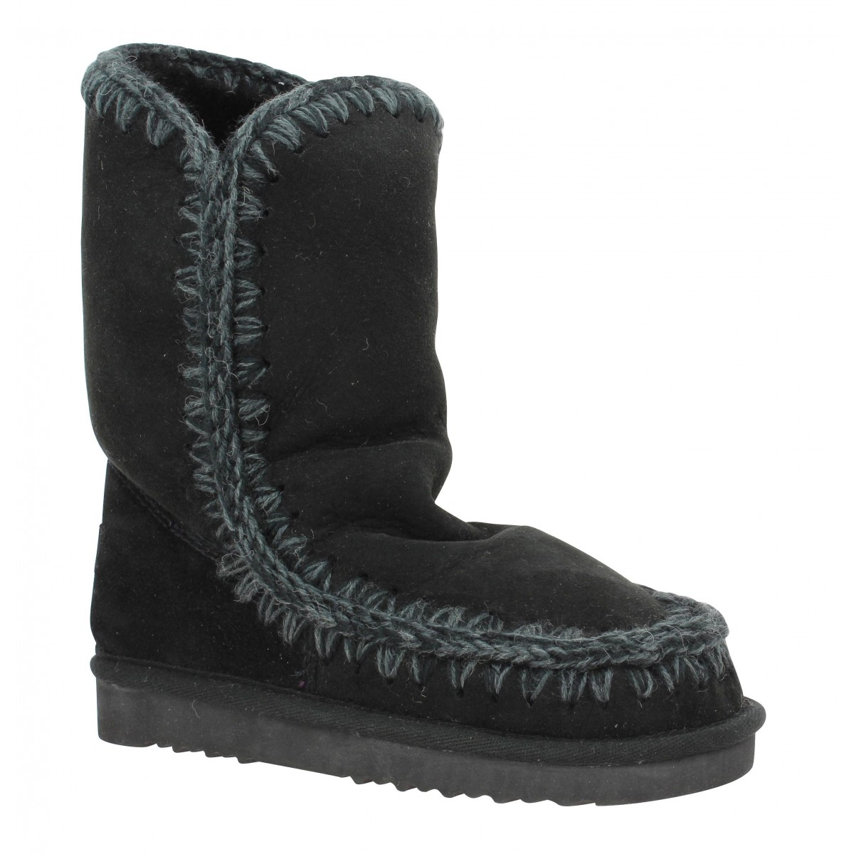 Bottes MOU Eskimo Boot 24 velours Femme Noir