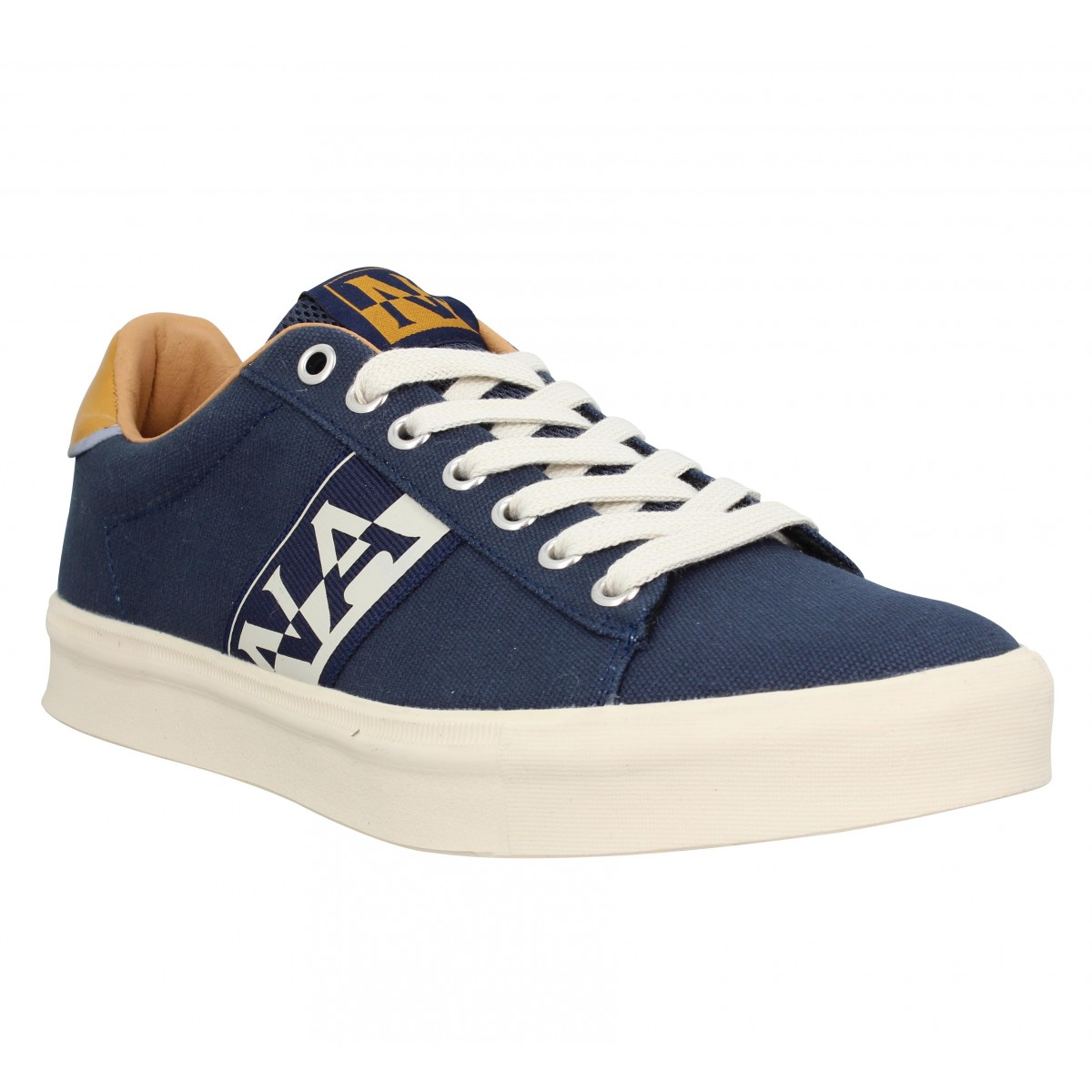 Baskets NAPAPIJRI Canvas Sneaker toile Homme Marine