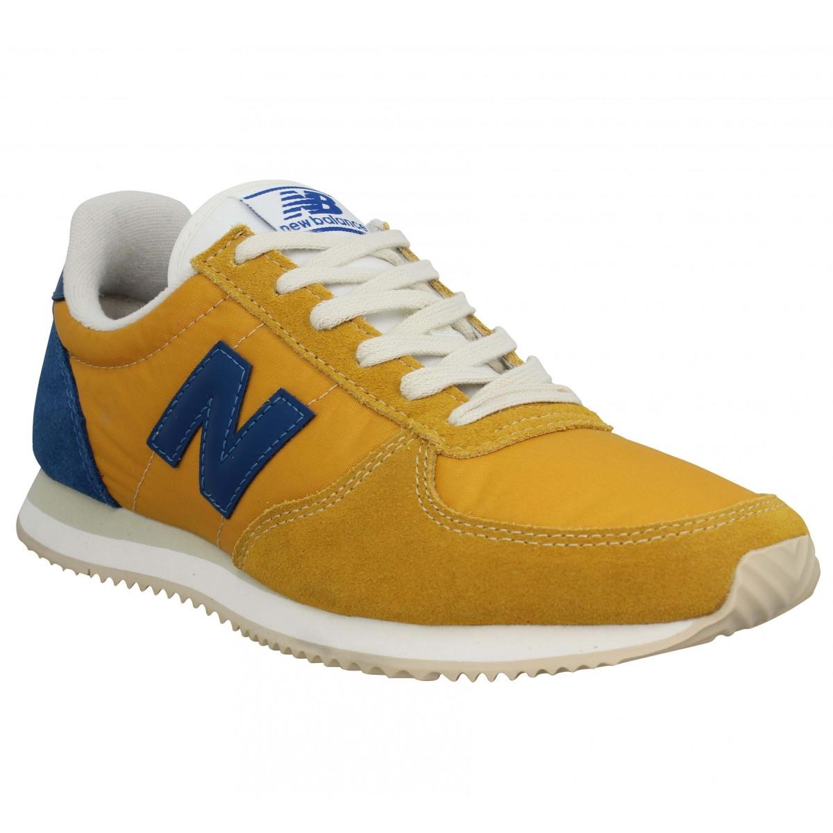 New Balance Homme 220 Toile -40-jaune