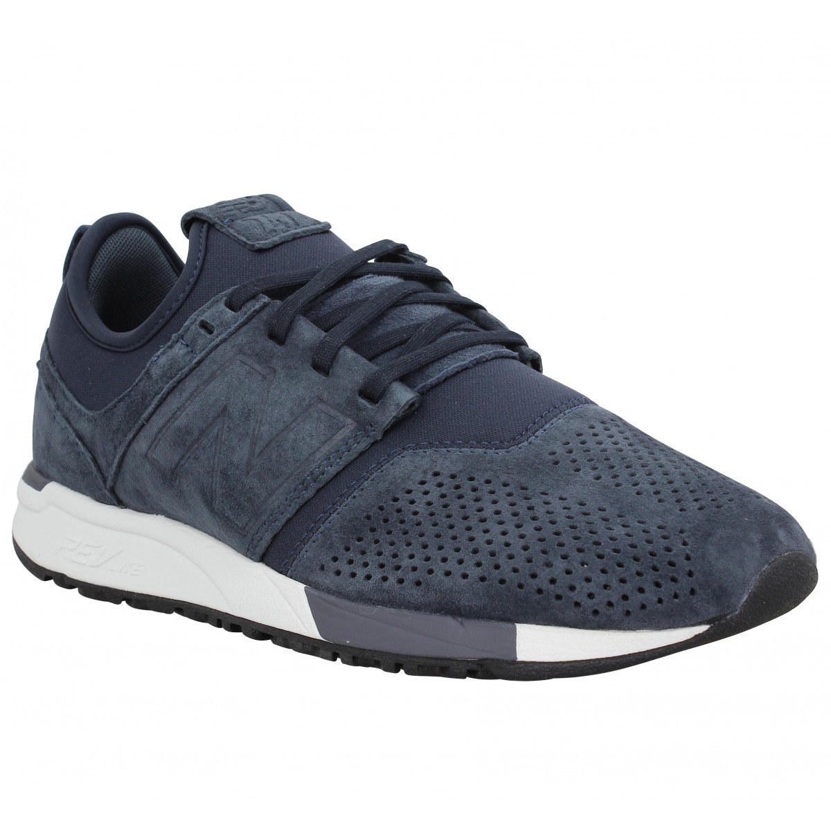 New Balance Homme 247 Suede -41,5-navy