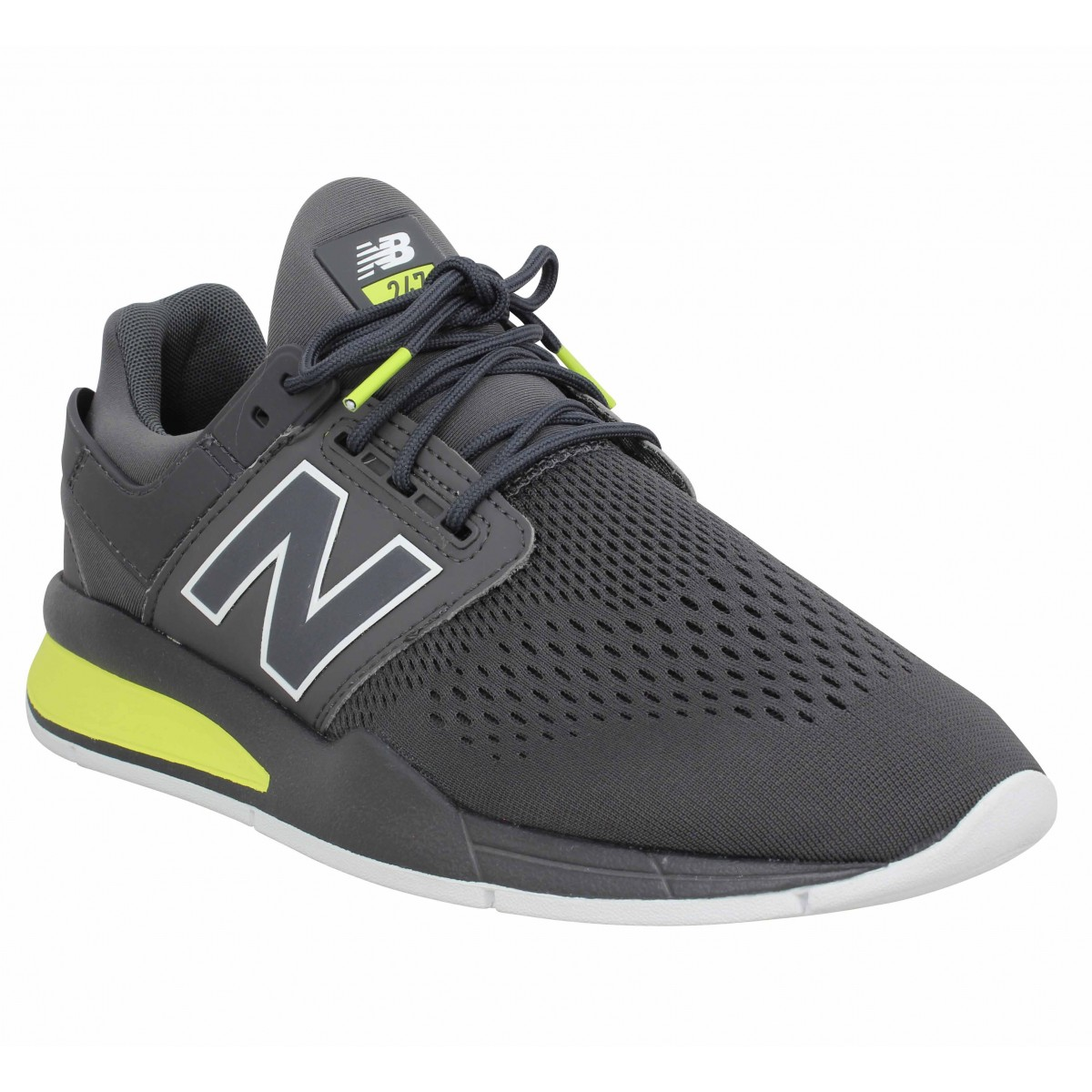 New Balance Homme 247 Toile -40-gris