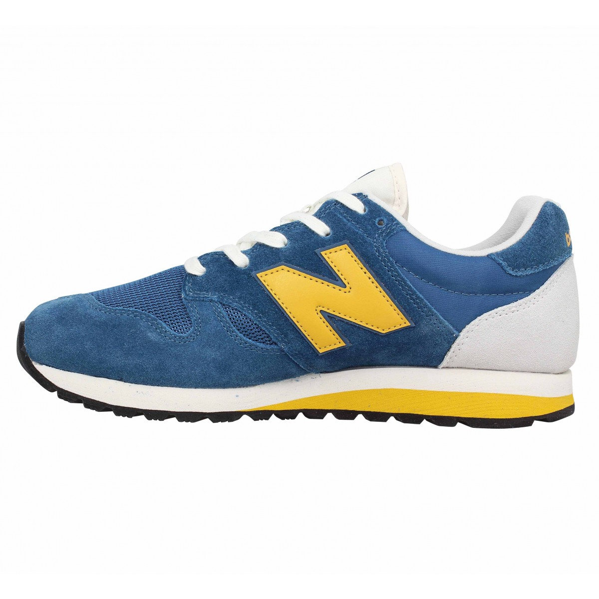 New balance 520 velours toile homme bleu homme | Fanny chaussures