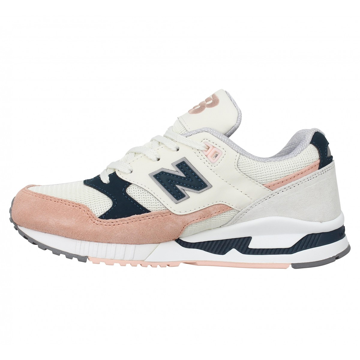 new balance blanc et rose