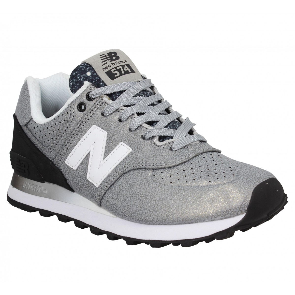 Baskets NEW BALANCE 574 Argent