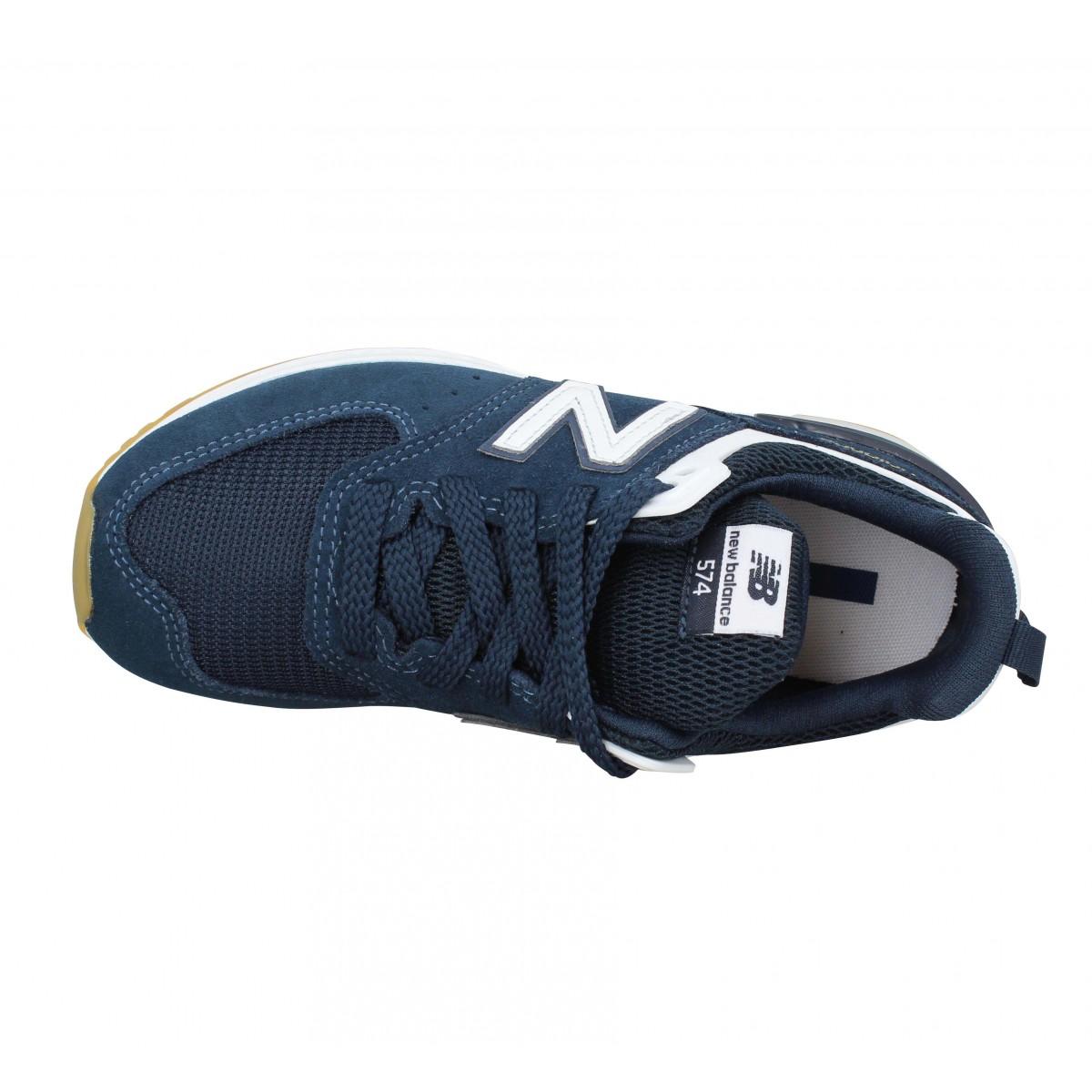 NEW BALANCE 574 Sport toile Enfant Bleu