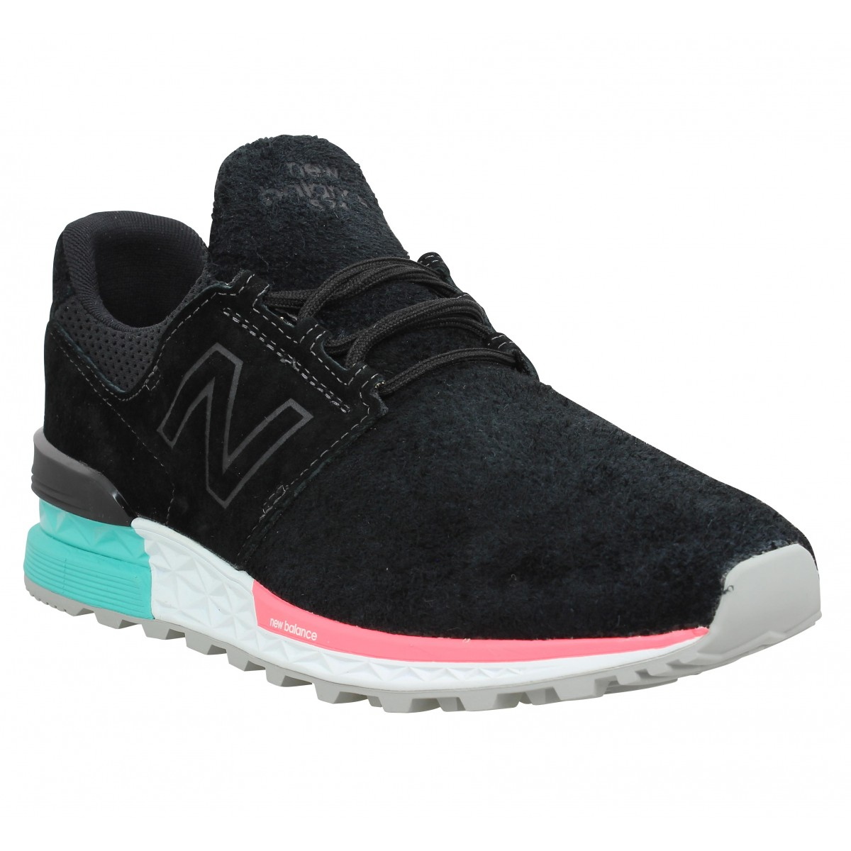 Baskets NEW BALANCE 574 Sport velours Homme Black