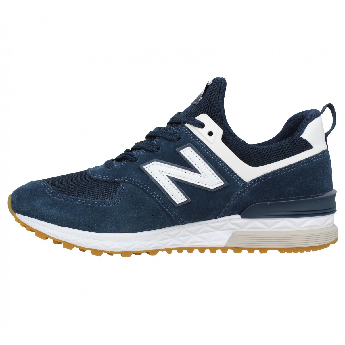Chaussures New balance 574 sport velours homme marine homme ...
